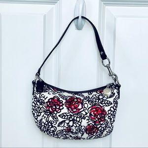 Coach Poppy Daisy Floral Graffiti Small Bag